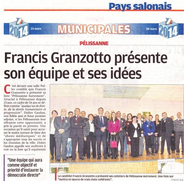 La Provence 4 mars 2014 1