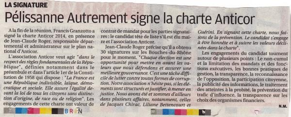 La Provence 4 mars 2014 3-2
