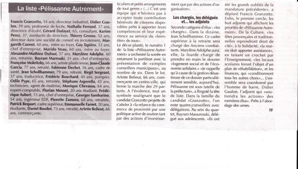 Régional 5 mars 2014 2