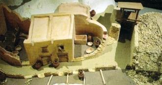 La maquette exposée à Lançon