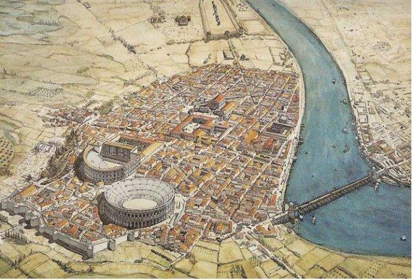 La ville romaine d'Arelate (Arles)