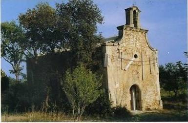 La chapelle dans son état actuel, malgré son classement