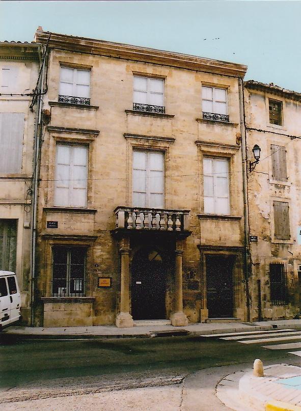L'Hôtel de ville construit par les consuls